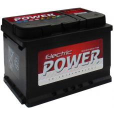 Electric Power 60ah Akkumulátor 480A jobb+