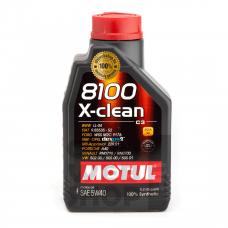 Motul 8100 X-Clean 5W-40 1 L