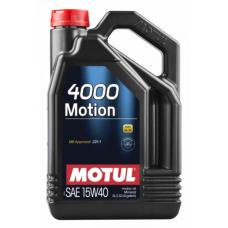 Motul 4000 Motion 15W-40 5 L