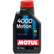 Motul 4000 Motion 15W-40 1 L